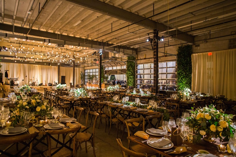 warehouse wedding decor how to decorate a large venue and make it look intimate 8365